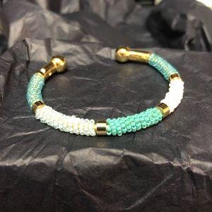 18k Gold Beaded Bracelet